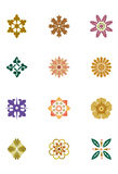 Pattern elements Royalty Free Stock Photo