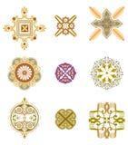 Pattern elements Royalty Free Stock Photos