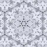 Pattern with elements, retro vector royalty free stock photo