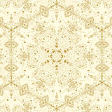 Pattern with elements, retro vector Royalty Free Stock Images
