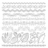 Pattern elements Stock Photography