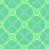 Pattern in emerald green, thin elegant lines Royalty Free Stock Photography