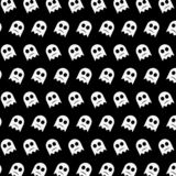 Ghost - emoji pattern 44. Pattern of a emoji ghost that can be used as a background, texture, prints or something else royalty free illustration