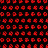 Ghost - emoji pattern 65. Pattern of a emoji ghost that can be used as a background, texture, prints or something else vector illustration
