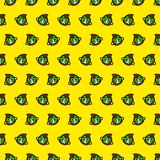 Monkey - emoji pattern 44. Pattern of a emoji monkey that can be used as a background, texture, prints or something else stock illustration