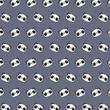 Panda - emoji pattern 44. Pattern of a emoji panda that can be used as a background, texture, prints or something else royalty free illustration