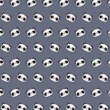 Panda - emoji pattern 69. Pattern of a emoji panda that can be used as a background, texture, prints or something else royalty free illustration