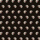 Pug - emoji pattern 05 royalty free illustration