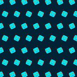 Robot - emoji pattern 44. Pattern of a emoji robot that can be used as a background, texture, prints or something else royalty free illustration