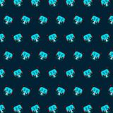 Robot - emoji pattern 69. Pattern of a emoji robot that can be used as a background, texture, prints or something else stock illustration