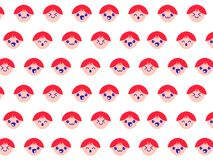 The pattern of emotions royalty free illustration