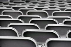 Pattern of empty seats Stock Image
