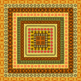 Pattern with ethnic African motifs Royalty Free Stock Image