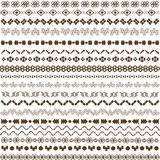 Pattern ethnic backgrond Stock Photos