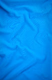 Pattern of fabric. Abstract background of a blue fabric Royalty Free Stock Photo