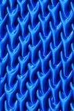 Pattern of fabric. Abstract background of blue fabric Stock Photo