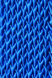 Pattern of fabric. Abstract background of blue fabric Stock Image
