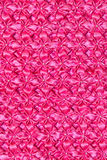 Pattern of fabric. Abstract background of pink fabric Royalty Free Stock Images