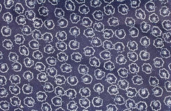 Pattern on fabric. Royalty Free Stock Photography