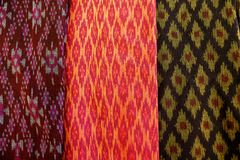 The pattern on the fabric royalty free stock photos