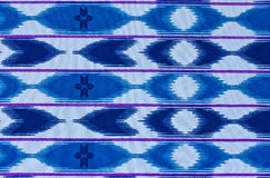 Pattern on the fabric of the sarong Stock Images