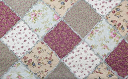 Pattern of fabric textile Royalty Free Stock Photos