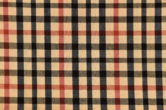 Pattern on fabric texture for background Stock Images