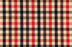 Pattern on fabric texture for background Royalty Free Stock Photography