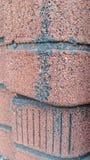 Pattern. Fake brick wall Stock Image