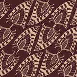 Pattern with feathers Stock Photos