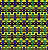 Pattern from  figures Stock Photos