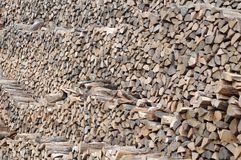 Pattern firewood Stock Images
