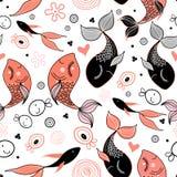 Pattern of fish Royalty Free Stock Image
