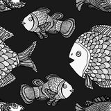 Pattern fish Stock Image