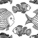 Pattern fish Stock Photography