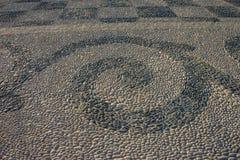 Pattern on the floor in plaza de espana in Seville, Spain, Europ Stock Photos