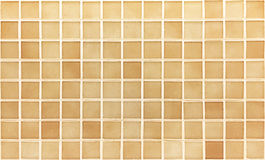 Pattern floor tile brown color for background Royalty Free Stock Photo