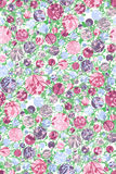 Pattern floral Stock Image