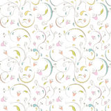 Pattern floral Stock Photo