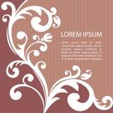 Pattern-07 floral Images libres de droits