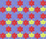 Pattern. Floral background, seamless pattern - vector illustration Royalty Free Stock Photos