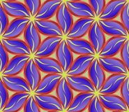Pattern. Floral background, seamless pattern - vector illustration Royalty Free Stock Photo