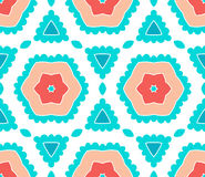 Pattern floral. Pattern  floral complex seamless circle Royalty Free Stock Images