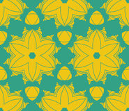 Pattern floral. Pattern  floral complex seamless circle Stock Photo