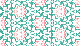 Pattern  floral. Complex seamless circle Stock Photo