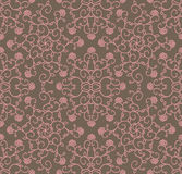Pattern with floral elements Royalty Free Stock Photos
