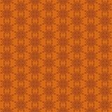 The pattern with folk elements for craft brand. The pattern of floral ornament in the folk style. Perfect for developing corporate identity craft and private royalty free illustration