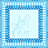 Pattern floral pattern for text Royalty Free Stock Image