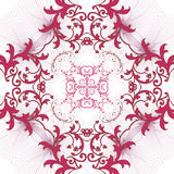 Pattern floral print without borders Stock Photo