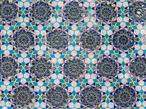 Pattern with a floral theme Royalty Free Stock Photo